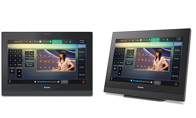 extron touch panel