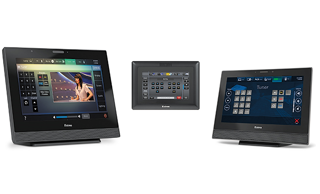 extron touch panels