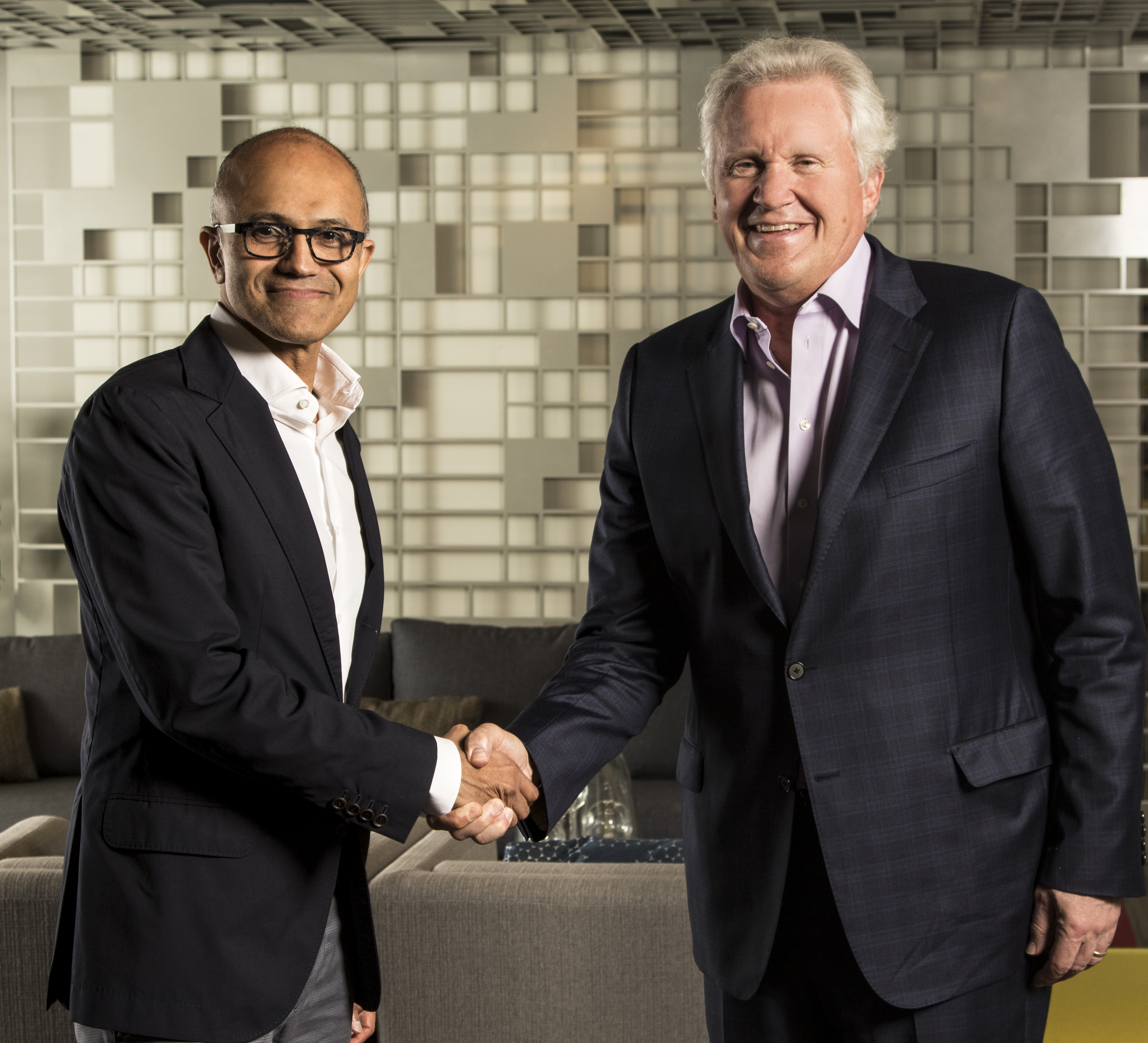 Microsoft CEO Satya Nadella and GE CEO Jeff Immelt today announced a partnership that will make GE's Predix platform for the Industrial Internet available on the Microsoft Azure cloud.