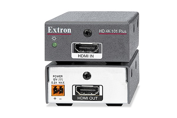 Extron HDMI 4K 60 cable equaliser now shipping