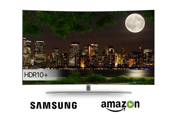 Samsung and Amazon Video introduce HDR10+