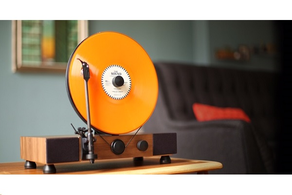 Gramovox celebrates 140 years of vinyl with Floating Record Player