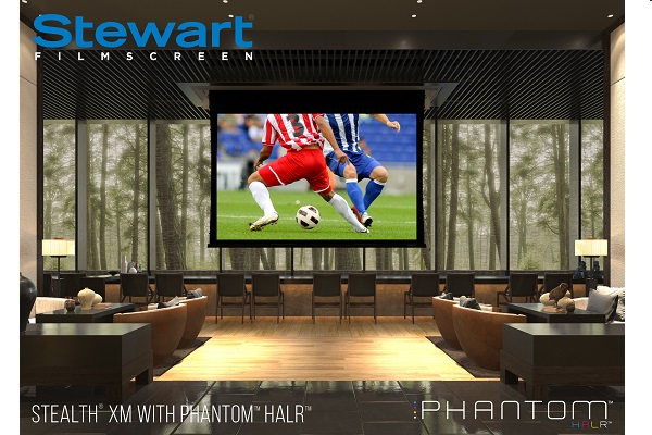Stewart Filmscreen premieres new commercial projector screens at InfoComm 2017