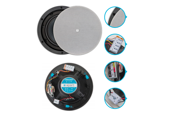 Hassle-free, professional audio solution with Apart CM Design series