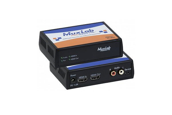 MuxLab enables greater compatibility between HDMI and audio devices