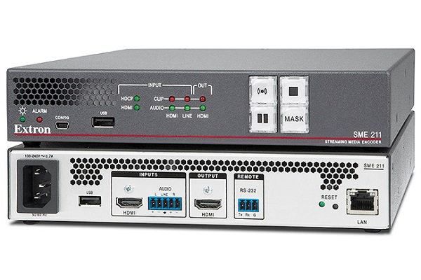 Extron introduces SME 211 with high performance streaming capabilities