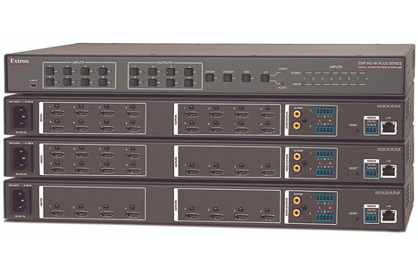 Extron now shipping 18Gbps HDMI Matrix Switchers